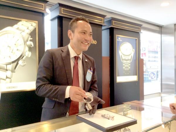 【新卒採用】総合職(時計・ジュエリーの販売) お客様の笑顔を感じられる仕事です!