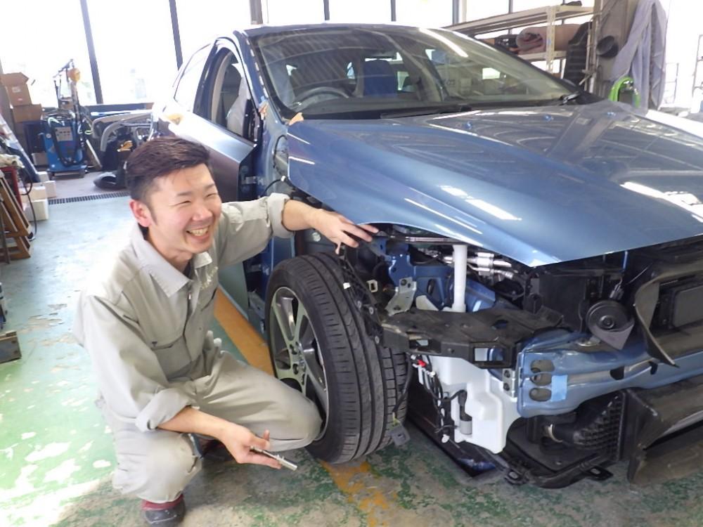 自動車の板金塗装募集|未経験者大歓迎